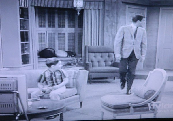furniture on Dick Van Dyke show