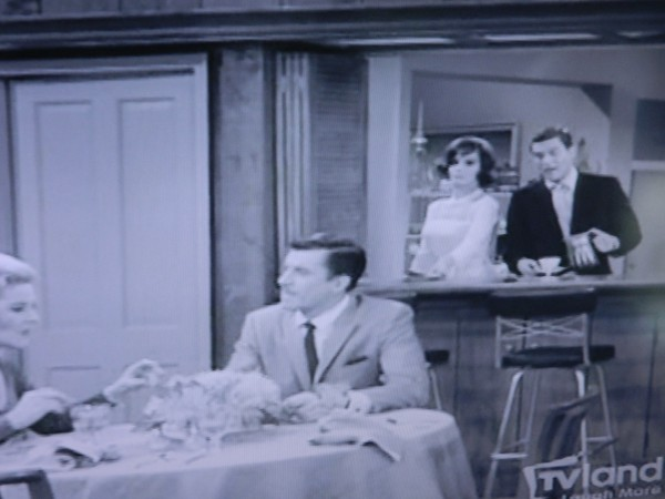 Kitchen to dining room Dick Van Dyke Show