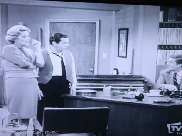 Dick Van Dyke show office scene