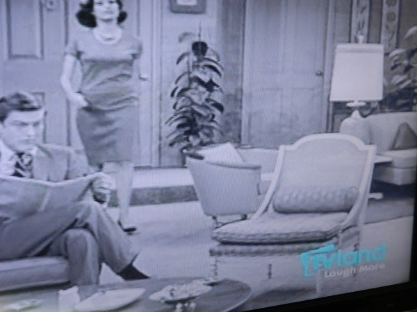 Living room furniture Dick Van Dyke Show