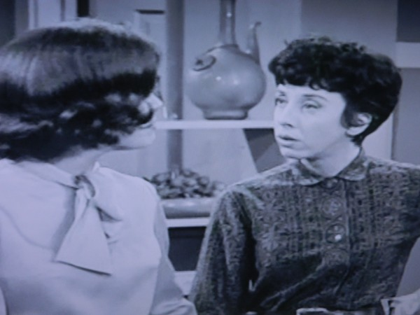 Millie and Laura on Dick Van Dyke Show