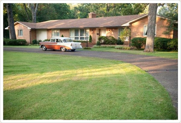 """The Help"" movie house -  Elizabeth Leefolt's middle-class ranch house is in Greenwood, Mississippi"
