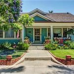 Exterior of california bungalow