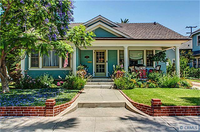 Charming california bungalow for California craftsman house