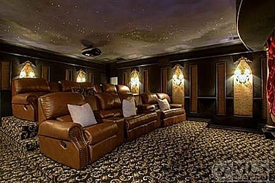 Kelly Clarkson theater room