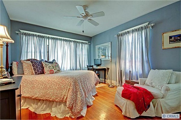 Darling blue bedroom in bungalow for sale