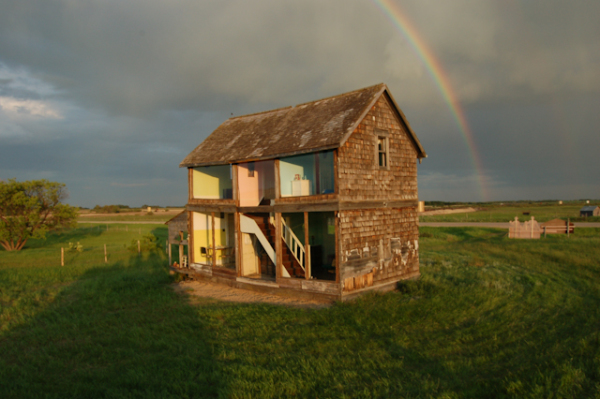 Life-sized dollhouse photo