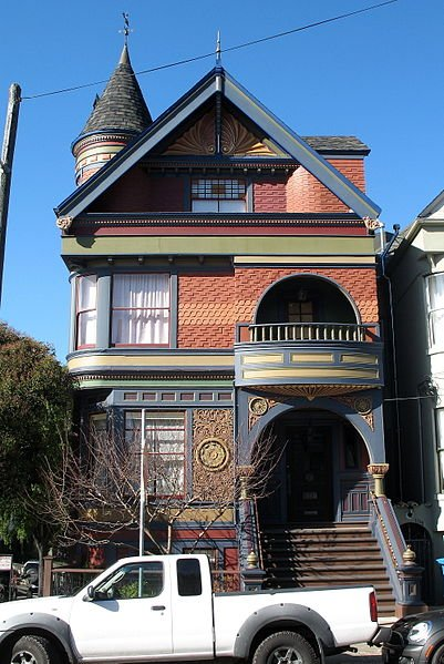 Historic victorian house show blogher for San francisco victorian houses history