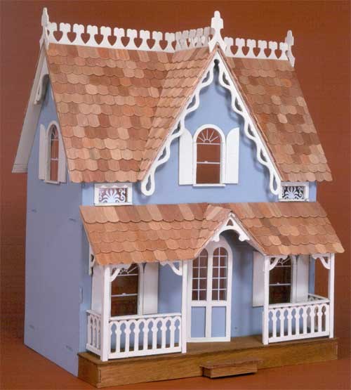 Blue Dollhouse - Arthur Dollhouse Kit by Greenleaf