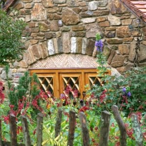 Charming Hobbit House window