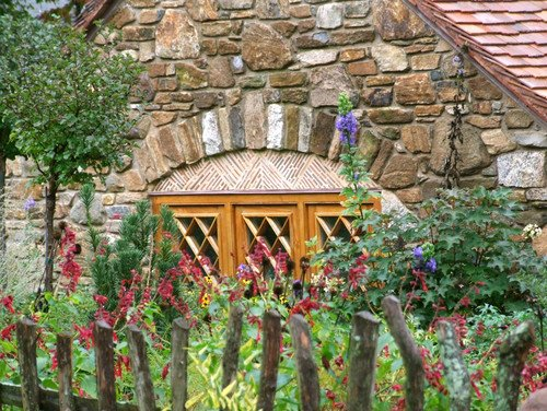 Charming Hobbit House window