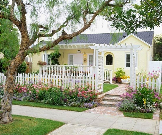 ranch with arbor charm - Little Yellow Houses