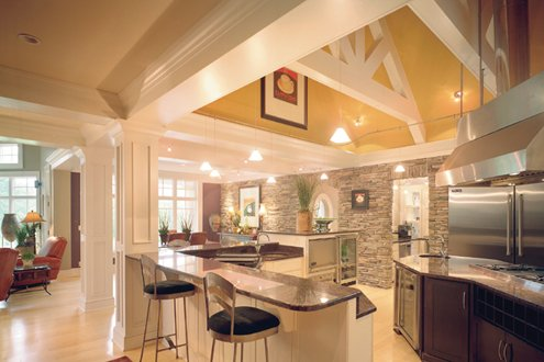 Custom Home Builder's kitchen