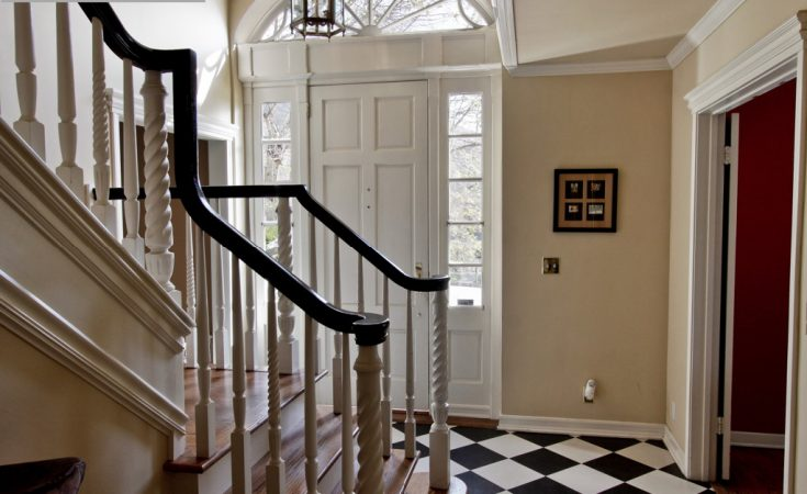 Entrance and stairway image