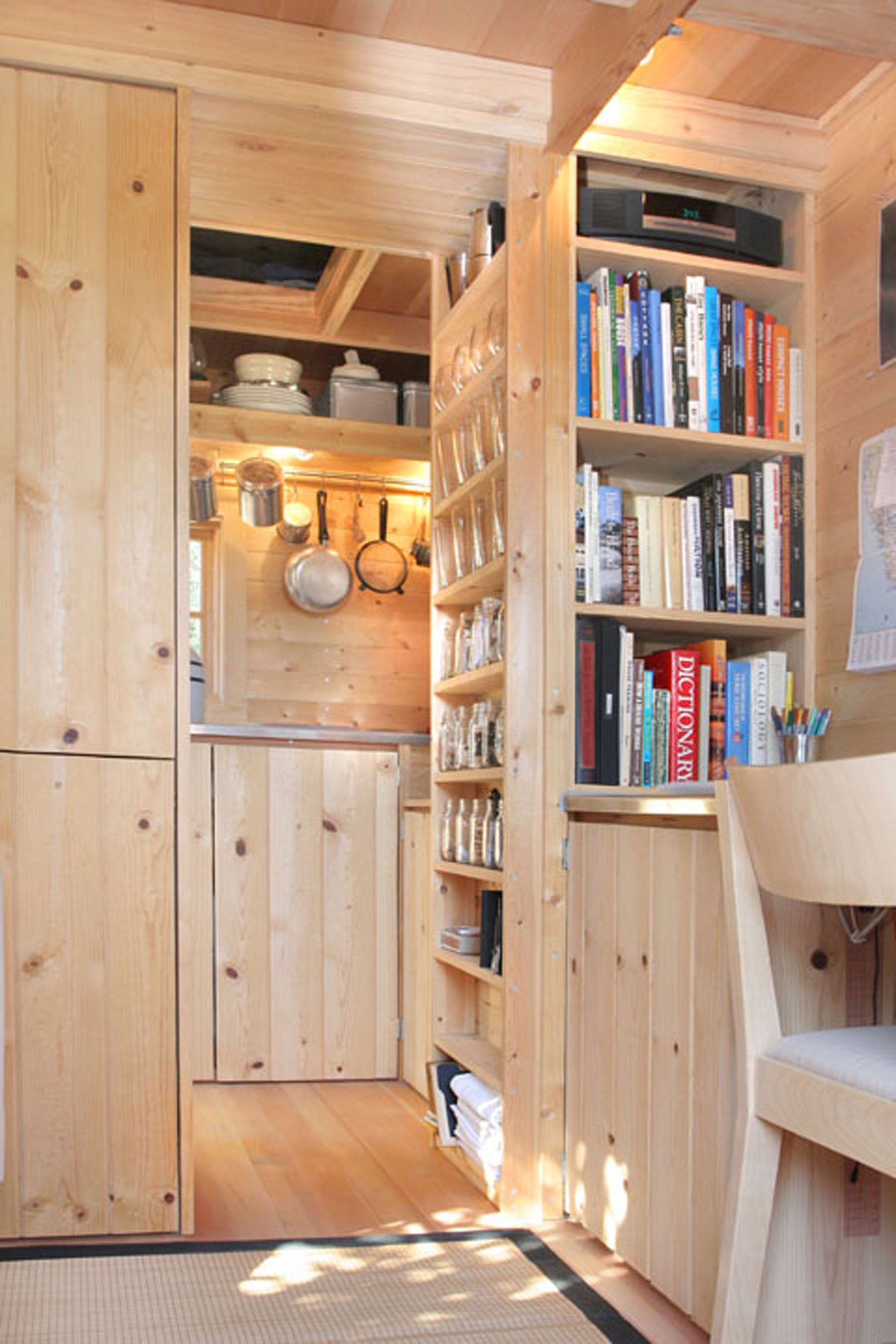tiny house interior - Tumbleweed Tiny House Interior
