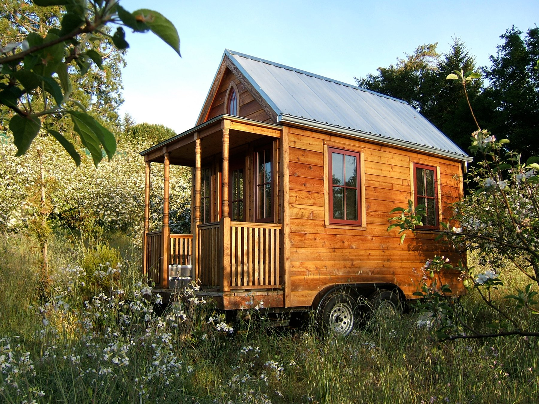 Tumbleweed Tiny House Cottage small space living