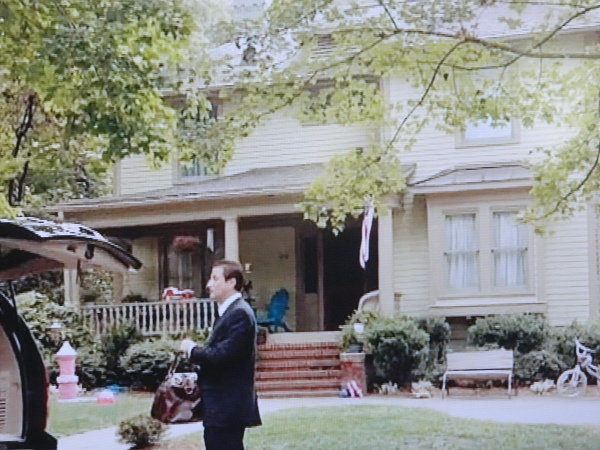 Homeland TV show house scene