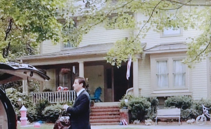 Homeland TV show house scene