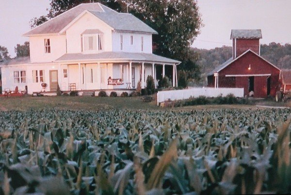 The movie house from Field of Dreams