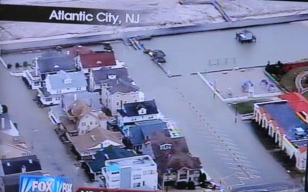 the destruction of Hurricane Sandy