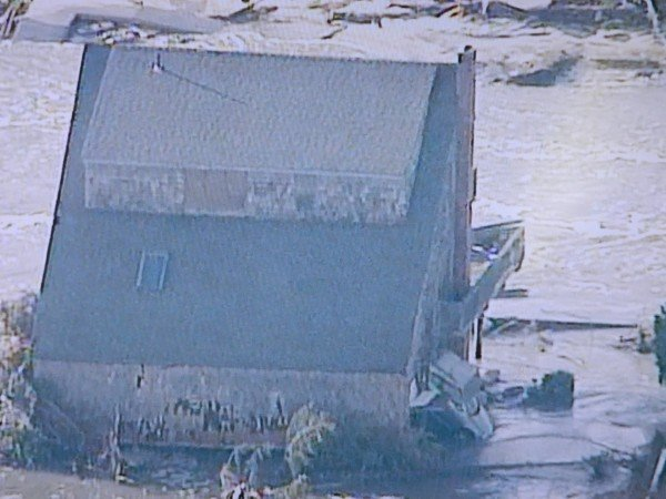 Hurricane Sandy house destruction