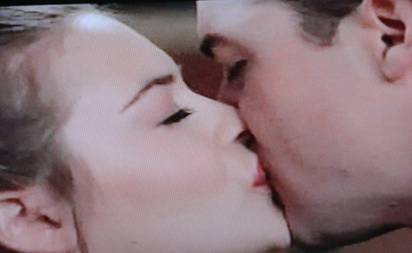 kissing scene from movie Blast From The Past