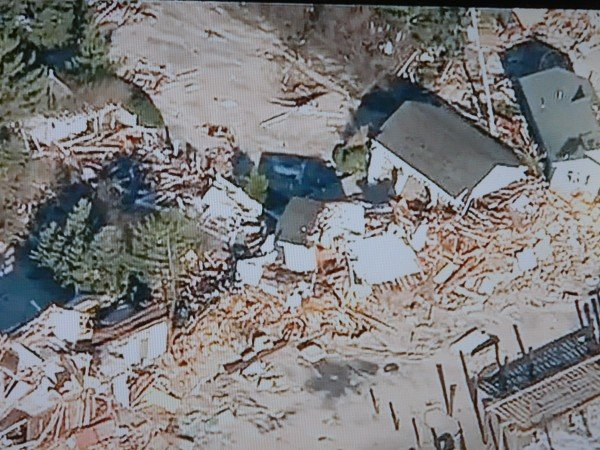 houses demolished Hurricane Sandy