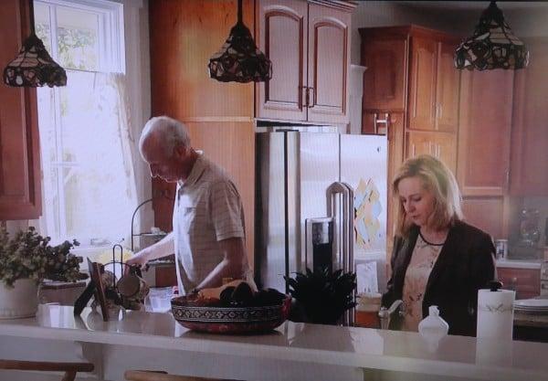 Homeland kitchen scene season 2