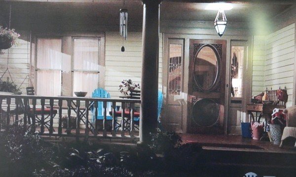 Homeland TV show porch scene