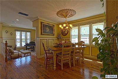 Formal dining room remodeled
