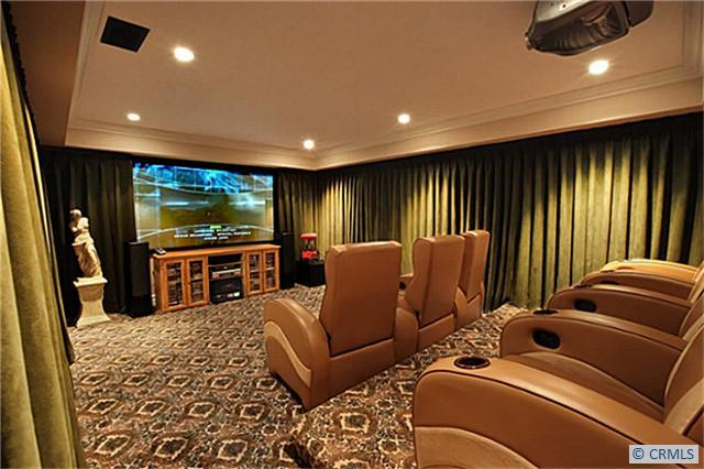 Home Theatre in Victorian house
