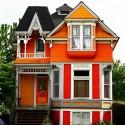 Orange Houses – Exterior House Colors