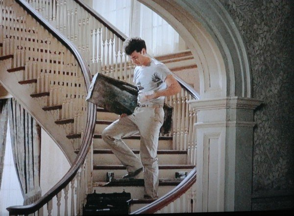 The Money Pit stairway scene