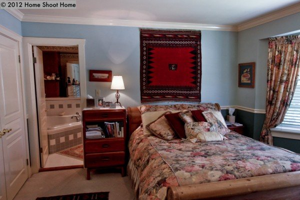 Master bedroom from Home Shoot Home