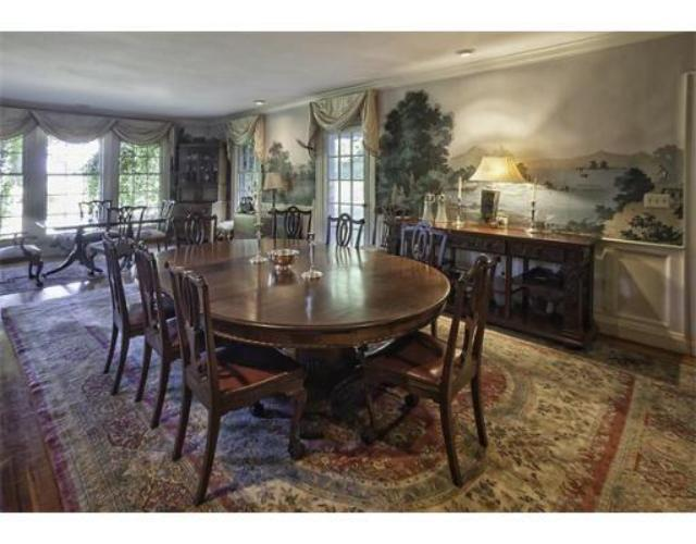 Colonial house dining room
