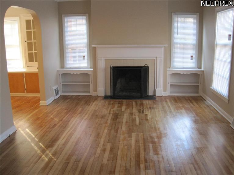 living room with hardwood floors