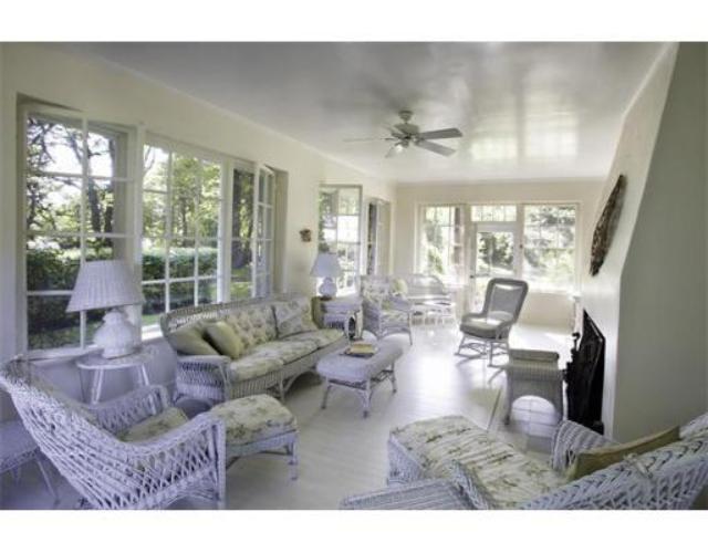 A spacious sun-room