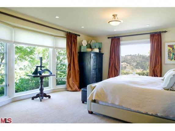 Adam Levine's bedroom of new house