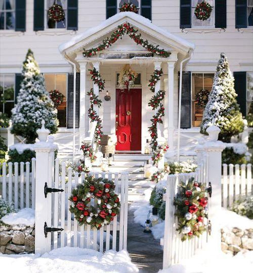 Decorating Ideas > Christmas Front Doors ~ 060215_Christmas Decorations Ideas For Front Doors
