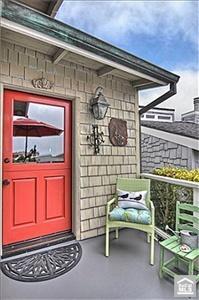 Entrance dooor to beach cottage