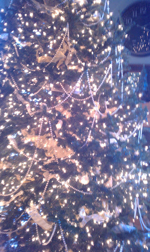 Clear Christmas Tree