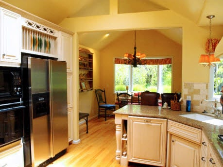 kitchen in Carmel cottage