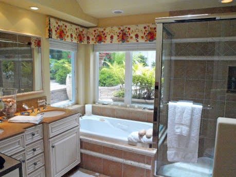 Carmel cottage master bathroom