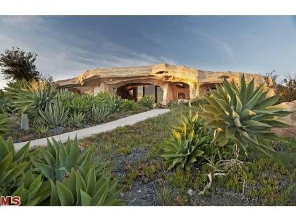 Unusual Flintstones Houses this one in Malibu