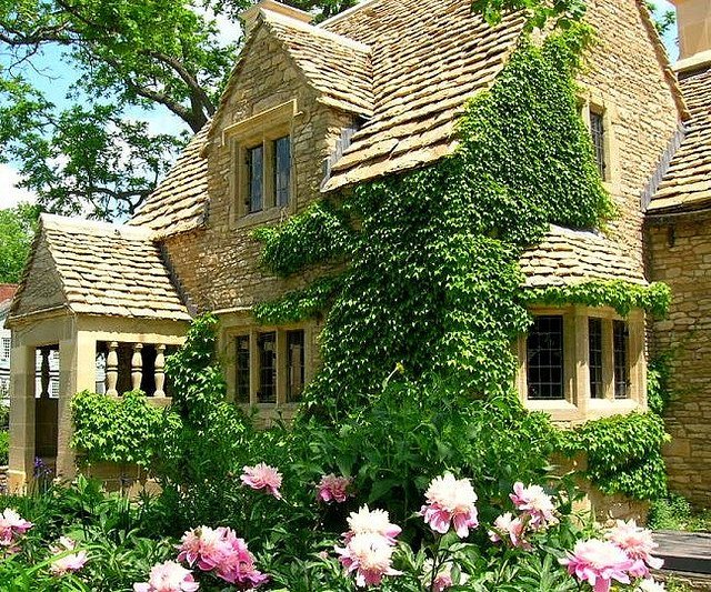 English country cotswold cottage for Classic english house