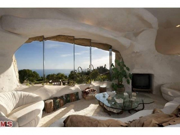 Dick Clark's unusual Flintstones house