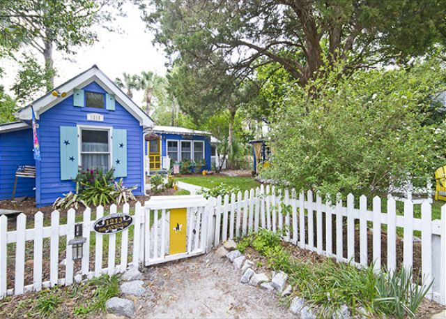 Fish Camp Cottage on Tybee Island - a vacation cottage rental