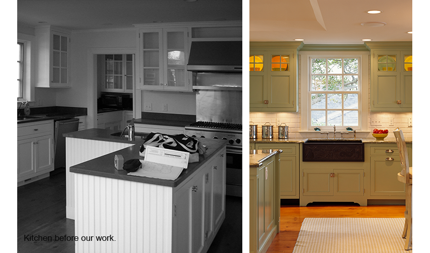 Exceptionnel Cape Cod Kitchen Remodel Before And After Trendyexaminer