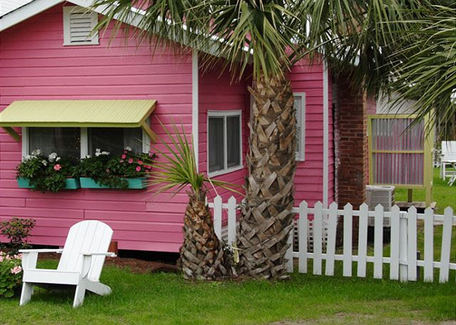 Old Love Cottage c1921 Tybee Island Mermaid Cottage