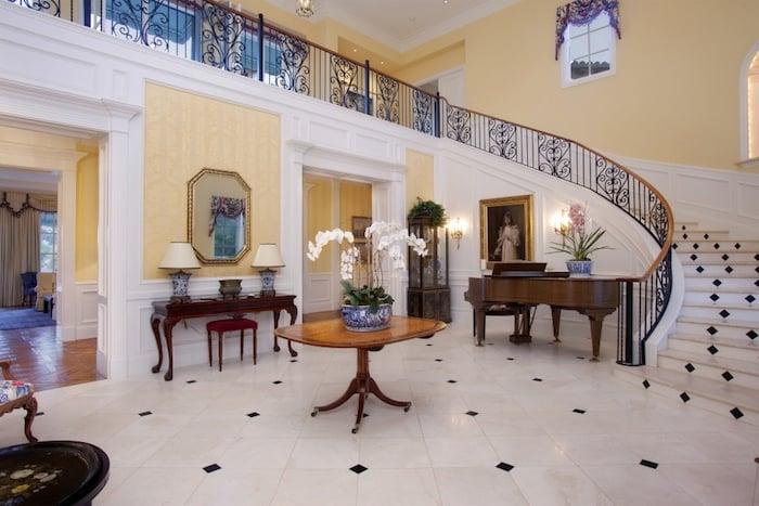 Mediterranean Style Home Exterior English Style Interior